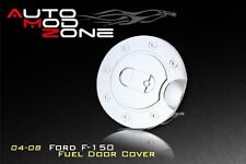 04-08 Ford F-150 Triple Chrome Fuel Tank Gas Door Cap Cover