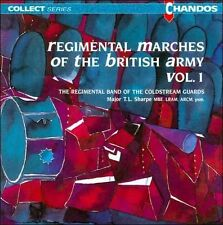 NEW Regimental Marches Of The British Army, Vol. 1 CD (CD) Free P&H