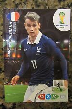 GRIEZMANN*ATLETICO MADRID *FRANCE* SOCCER CARD PANINI 2014 WORLD CUP