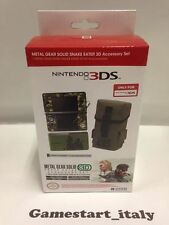METAL GEAR SOLID: SNAKE EATER 3D: SET ACCESSORI NINTENDO 3DS NUOVO NEW