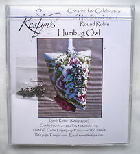 "Keslyn's ""Humbug Owl"" Counted Cross Stitch Kit with Owl Charm"