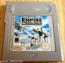 STAR WARS THE EMPIRE STRIKES BACK for NINTENDO GAME BOY RARE UKV cartridge only