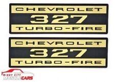 1962-65 CorvetteDecal Valve Cover Chevrolet 327 Turbo Fire Foil