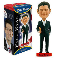 "Paul Ryan Ceramic Bobble Head Royal Bobbles Officially Licensed 10"" Tall"