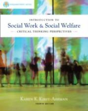 Introduction to Social Work and Social Welfare : Critical Thinking...