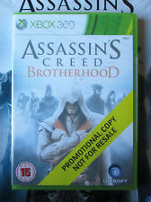 Assasssins Creed Brotherhood PROMO – Xbox 360 NEW SEALED Promotional Game & Bag