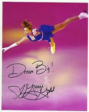 USA GRACIE GOLD  Signed 8x10  2014 Sochi Olympics