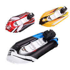 Fashion Inflatable Baby Kids Boat Toy Ship Hovercraft Model Tackle Gift Random