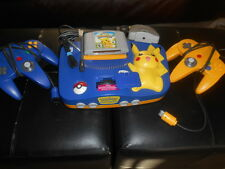 Nintendo 64 System - Video Game Console - Pikachu Version by Nintendo 64