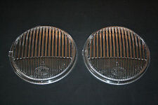 PORSCHE 911 912 MERCEDES SET CLEAR FOG LIGHT LENSES HELLA