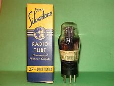 Engraved Silvertone #27  Vacuum Tube Results = 1030