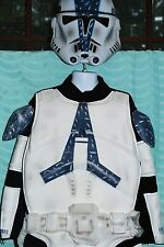Star Wars Clone Trooper Full Costume Size Boys Large 8/10 with Saber & Helmet