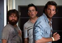 Hangover Cast Poster Cooper Helms Galafanakis 24x36