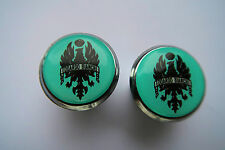 new Bianchi celeste Handlebar End Plugs, plug Bar End Caps very rare vintage 3D