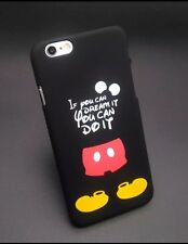 Disney Mickey Quote Phone Case For iPhone 7. Hard Plastic. Xmas