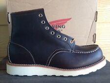 """Red Wing Heritage 4533 6"""" Classic Moc Toe Leather Boot  Size 10 Made In USA"""