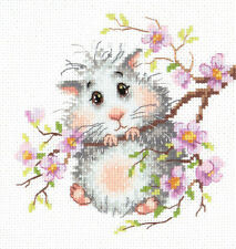 Cross Stitch Kit Hamster