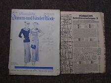 Praktische Damen- und Kinder-Mode Heft 3/1936 von W. Vobach & Co. GMBH.