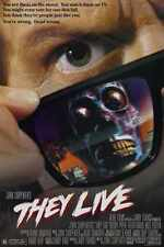 They Live Poster 01 Metal Sign A4 12x8 Aluminium