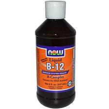 NOW Foods Vitamina B-12 LIQUIDO B-Complex - 237ml-malattie del sistema sanitario