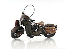 "1942 WLA Harley Davidson Army Motorcycle Metal Model 12"" Military Automotive New"