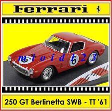 1/43 - Ferrari 250 GT SWB - 2° Tourist Trophy 1961 #6 Parkes - Die-cast