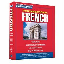 Pimsleur French Conversational Course - Level 1 Lessons 1-16 CD: Learn to Speak