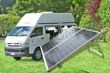 200W Poly Folding Solar Panel Kit 15A Controller for 12V Camper Adventure Power