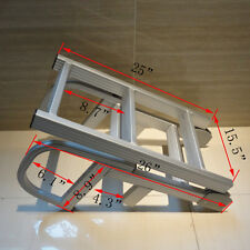 "Boater Sports ASL 4 Step 50"" Aluminum Pontoon Boat Folding Ladder Serviceable"