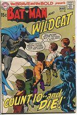 1970 Brave & Bold #88 ~Batman & Wildcat~ (Grade 4.5) WH