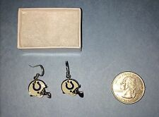 INDIANAPOLIS COLTS  J HOOK EARRINGS
