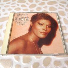 Dionne Warwick - Greatest Hits 1979-1990 JAPAN CD 1st Press A32D-97 #120-3