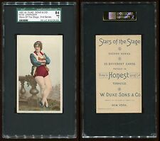 1891 N130 Stars of the Stage (2nd Series) Unknown Subject SGC 84 NM #8132126-003