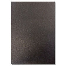 2 x A4 SHEETS OF 220GSM PREMIUM DOVECRAFT BLACK GLITTER CARD