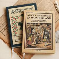 Vintage Style Alice Undated Planner Scheduler Organizer Diary Journal for girls