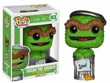 Funko POP! Sesame Street: Oscar The Grouch - Stylized TV Vinyl Figure 03 NEW