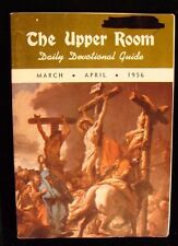 Alcoholics Anonymous  Devotional AA History The Upper Room March-April.  1956