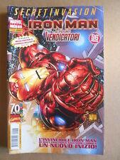 Iron Man & I Potenti Vendicatori n°13 2009 Marvel Panini  [G410] con Poster