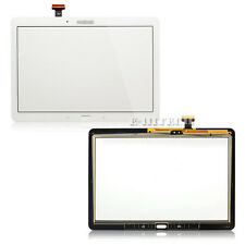 Samsung Galaxy Note 10.1 P600 White Digitizer Touch Screen Lens Glass 2014 10.1""