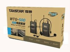 Takstar WTG-500 Wireless Acoustic Transmission System Tour Guiding Simultaneous