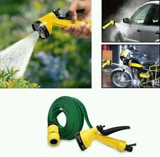MULTIFUNCTION SPRAY GUN WITH 10M Water HOSE BIKE WASH garden HOSE Car wash