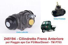 245194 - Cilindretto Freno Anteriore per Piaggio Ape Car P3 - Car/Max Diesel