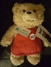 Brand New!  NWT 8'' Ted Official Talking Movie Teddy Bear Plush Toy w/Apron