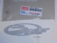 YAMAHA CW50 RS NEW OLD STOCK GENUINE STICKER x1