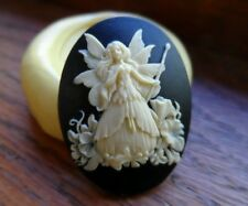Fairy Godmother cameo silicone push mold mould polymer clay resin  sugar craft
