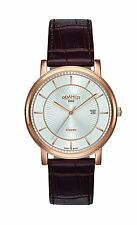 Roamer Classic Line  Brown Leather Strap Mens Watch 709856 49 17 07   RRP £189.0