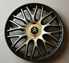 "13"" Citroen AX,Saxo,etc..Wheel Trims / Covers, Hub Caps,black&silver,Quantity 4"