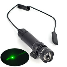 Tactical Hunting rifle Green Laser Sight Dot Scope flashlight Mount light Gun