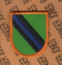 US Army 108th Military Police Company MP Airborne beret flash patch m/e