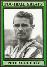 THE BEAUTIFUL GAME LTD-FOOTBALL GREATS-1999- #48-DERBY & N IRELAND-PETER DOHERTY